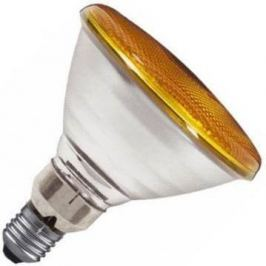Reflectorlamp PAR38 geel 80W grote fitting E27